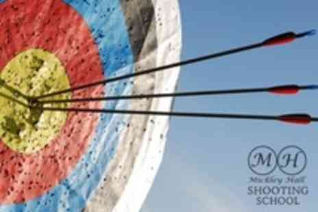 Mickley Hall Shooting School - Archery Session For Two Plus One Year Membership - Save 63%