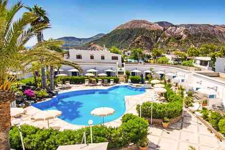 Les Sables Noirs Resort & Spa - Four Star Relaxing Escape on Vulcano Island for two - Save 73%
