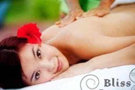 Bliss - One Hour Full Body Massage Plus 30 Minute Body Exfoliation Treatment - Save 63%