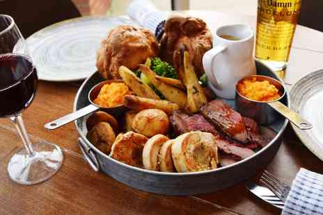 Bryant Park Hospitality - Sunday roast platter for 2 with carafe of wine - Save 40%
