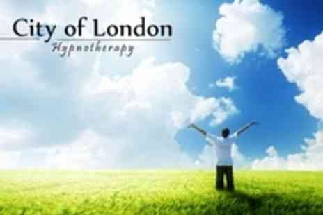 City of London Hypnotherapy - Three 60 Minute Sessions of Hypnotherapy - Save 60%