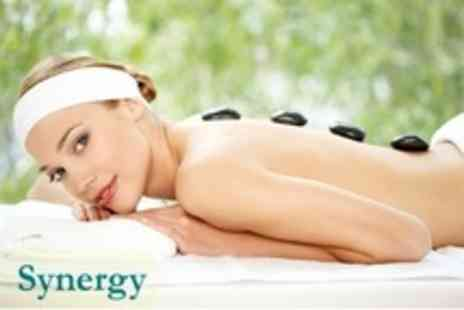 Synergy - One Hour Massage Aromatherapy or Hot Stone - Save 61%