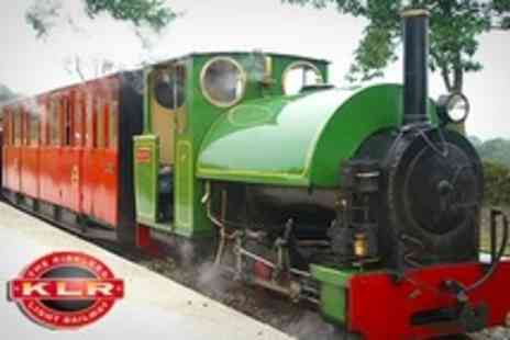 The Kirklees Light Railway - Steam Train Ride For Family of Four - Save 59%