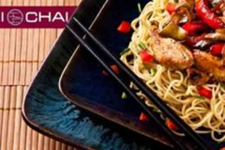 Ichai - West End Chinese Meal With Wine For Two - Save 59%