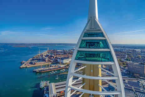 Emirates Spinnaker Tower - Visit with Afternoon Tea at the Top for Two - Save 0%