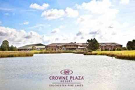 Crowne Plaza Resort - In Essex Countryside One Night Stay For Two With Dinner, Wine and Breakfast - Save 50%