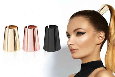 Avant Garde - Metallic ponytail clip choose from three colours - Save 0%