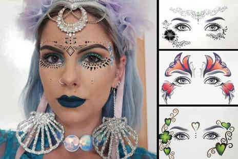 hey4beauty - Temporary eye tattoo sticker choose from eight designs - Save 85%