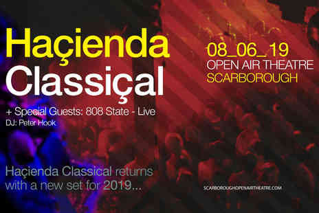 Cuffe and Taylor - Standing ticket to see Haçienda Classical on Saturday 8th June - Save 37%