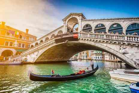 Super Escapes Travel - Two nights Venice holiday with return flights - Save 23%