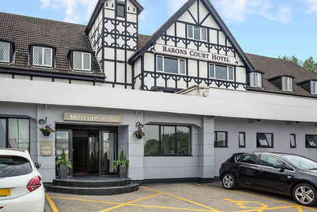 Mercure Barons Court Hotel - Overnight stay for two people with early check in, breakfast and dining - Save 57%