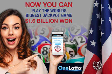 OneLotto - 1000 syndicate Powerball lines - Save 85%