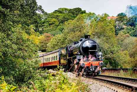 North Yorkshire Moors Railway Enterprises - Scenic steam train day trip for Two - Save 37%