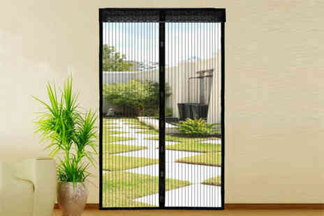 Vivo Mounts - Magic mesh hands free screen door choose from two colours - Save 67%