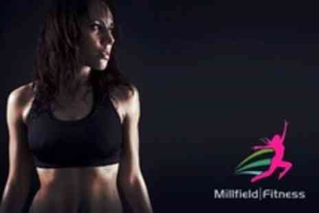 Millfield Fitness - Ten Fitness Classes Such as Zumba, Kettlebells or Fitness Yoga - Save 68%