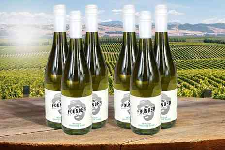 Cellier - Six bottle case of The Founder Marlborough Sauvignon Blanc - Save 26%
