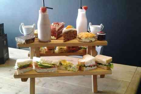 Roobarb N Custard - Afternoon Tea for Two or Four with Optional Prosecco - Save 40%