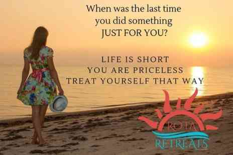 Rota Retreats - Learn How To Live A Stress Free Life workshop 2 - Save 0%