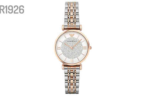 AW Watches - Armani Watches Choose from Three Options - Save 69%