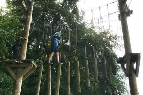 Peak Activities Services - Child ticket to Trafford Treetop Adventures - Save 42%