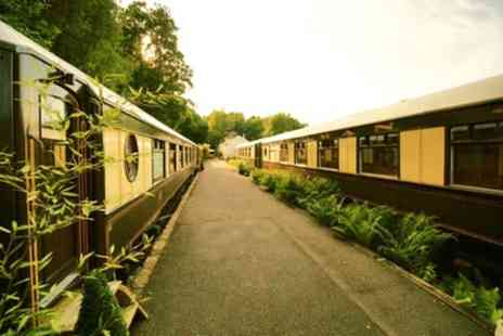 The Old Railway Station - Standard Pullman Carriage Ensuite Double Room for Two with Breakfast  - Save 34%