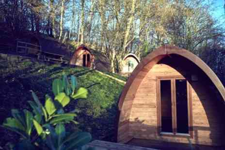 Mountain Edge Shropshire - 1 or 2 Nights Glamping Pod Stay for Two with Optional Dinner and Early Check In - Save 42%