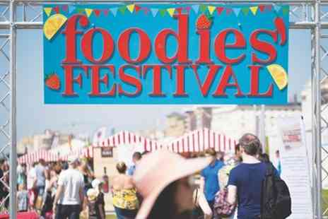 Foodies Festival - Offers a fun day out for all the family - Save 0%