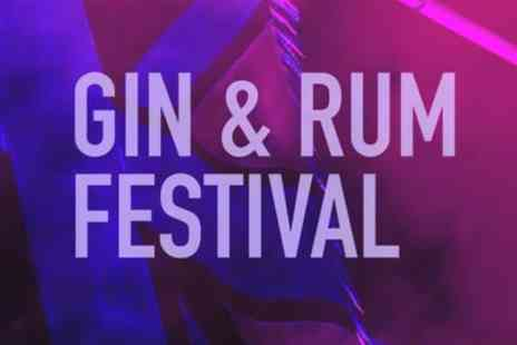 Gin And Rum Festival - One ticket from 8th To 29th June - Save 25%