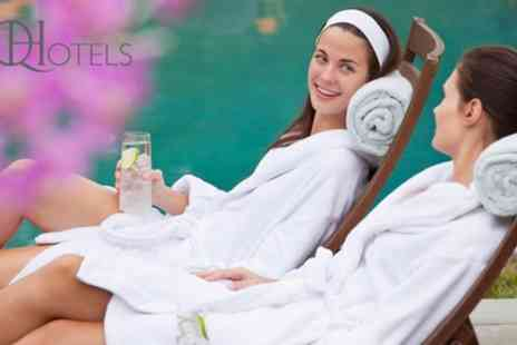 Belton Woods - Spa Access with Two Treatments, Towel, Drink and Pastry for One or Two - Save 53%