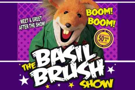 The Basil Brush Show - One general admission ticket on 25th July - Save 18%