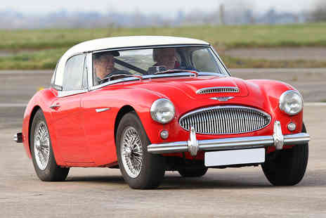 Virgin Experience Days - Classic Car Drive plus High Speed Passenger Ride - Save 14%