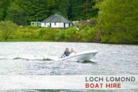 Loch Lomond Boat Hire - One Hour on the Water For Four - Save 55%