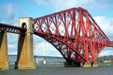 Forth Bridges Tours - Royal Walking Tour of Queensferry for Two or Family of Four - Save 29%
