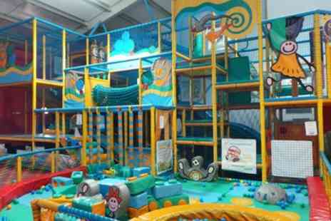 Soccerworld & Kidzworld - Five or Seven Week Summer Soft Play Pass for One Child - Save 50%