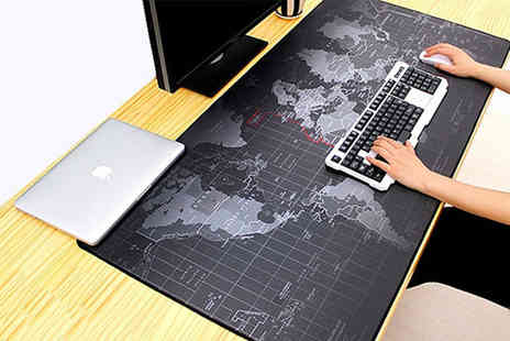 MBLogic - World map computer mat choose from three sizes - Save 65%
