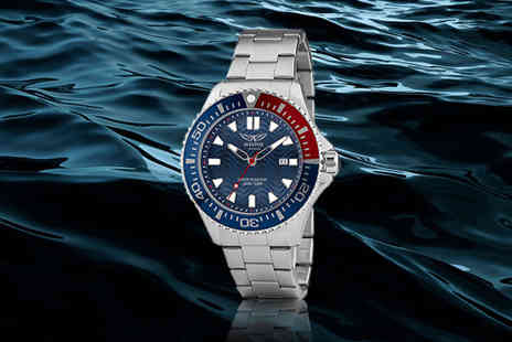 Brand Arena - Pro diver aviator watch - Save 72%