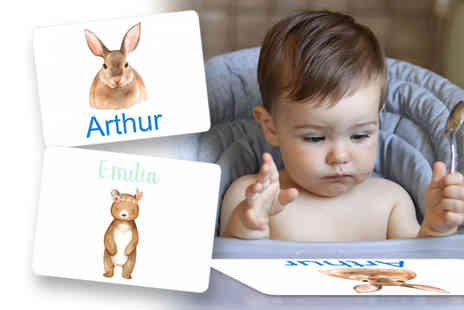 Your Perfect Canvas - Personalised place mat choose from 34 designs - Save 55%