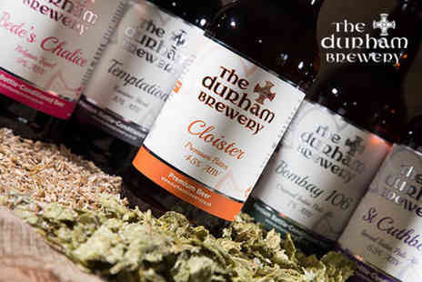 The Durham Brewery - Brewery tour and tasting for two or include a Dads Best glass and 5% Ruby beer to take home - Save 50%