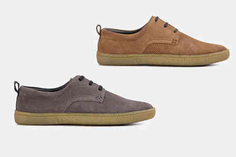 Redfoot - Pair of suede summer shoes choose from four pairs - Save 74%