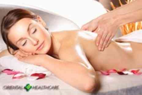 Oriental Healthcare - 1 Hour deep tissue, Swedish, sports, or Lymphatic massage - Save 68%