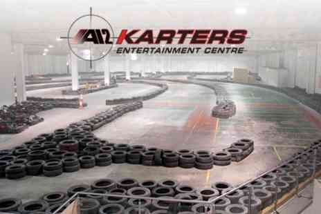 A12 Karters - Indoor Go Karting For Two Plus Refreshments - Save 19%