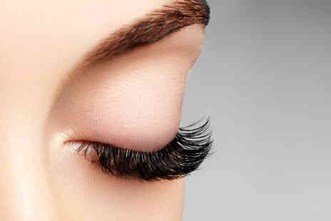 Lashes and Roses - Half set of semi permanent classic, hybrid or Russian eyelash extensions - Save 65%