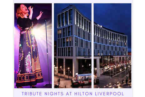 The Hilton Hotel - See a tribute night for two people with a two course dinner and Prosecco on arrival - Save 50%