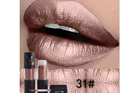 GetGorgeous - Liquid metallic lipstick choose from two colours - Save 62%