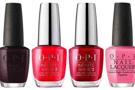 Groupon Goods Global GmbH - One or Two Nail Polishes or Infinite Shine OPI Nail Polishes - Save 0%