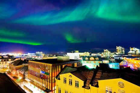 Super Escapes Travel - Two nights Reykjavik, Iceland getaway with return flights - Save 26%