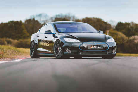 Drift Limits - 14 lap Tesla Model S P90D driving experience - Save 50%