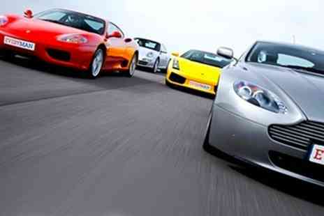 EveryMan Racing - Three Car Junior Supercar Driving Experience with Hot Lap and Photo - Save 34%
