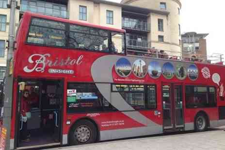 Bristol Insight - Hop on Hop off open top bus tour - Save 0%