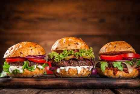 The Grub Garden - Burger Meal for Two or Four - Save 25%